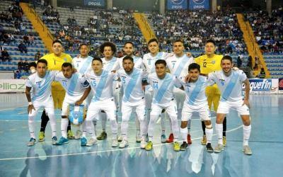 Concacaf confirma que premundial de futsal será en Guatemala