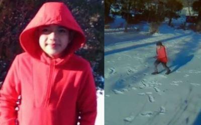 Niño hondureño muere tras contacto con la nieve para grabar video