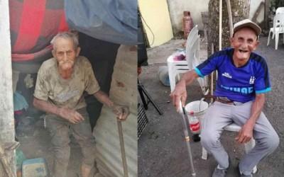 La vida le comienza a cambiar a Don Goyo, un abuelito de 92 años, conocido por trabajar 12 horas al día en un cañaveral
