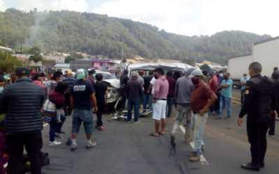 Múltiple colisión en la ruta Interamericana deja una persona fallecida