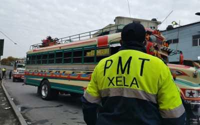 PMTQ y PM detecta que mayoría de buses extraurbanos tiene las llantas lisas