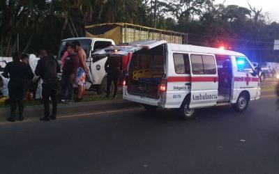 Ochos heridos, entre ellos un bebé, deja accidente en la ruta Cito Zarco