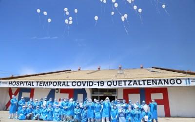 A un año de la apertura del Hospital Temporal de Quetzaltenango recuerdan a pacientes fallecidos por covid-19