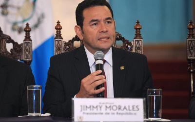 MP solicita retiro de antejuicio a Jimmy Morales por declarar non grato a Iván Velásquez