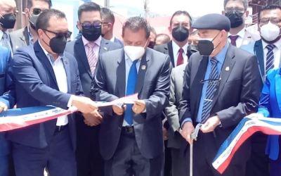 Inauguran calle Rodolfo Robles que tardó seis meses en ejecución y costó más de Q7 millones