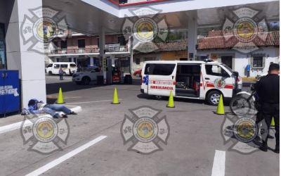 «Manolo» muere en la zona 1 de Quetzaltenango