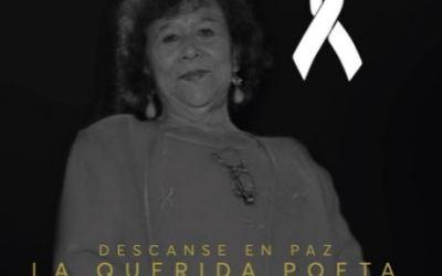 La poesía y literatura quetzalteca de luto por la muerte de Ana María González López