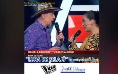 Así sonó Luna de Xelajú, en el escenario de uno de los concursos de canto más reconocidos en Perú