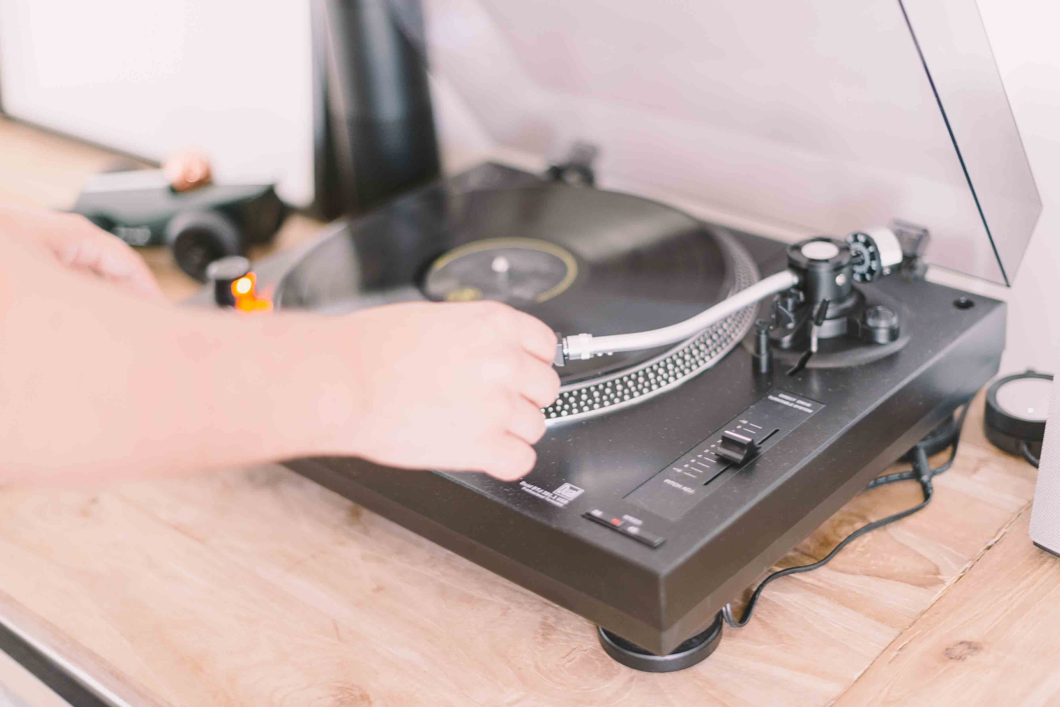 Identifying The Basic Components Of A Record Player