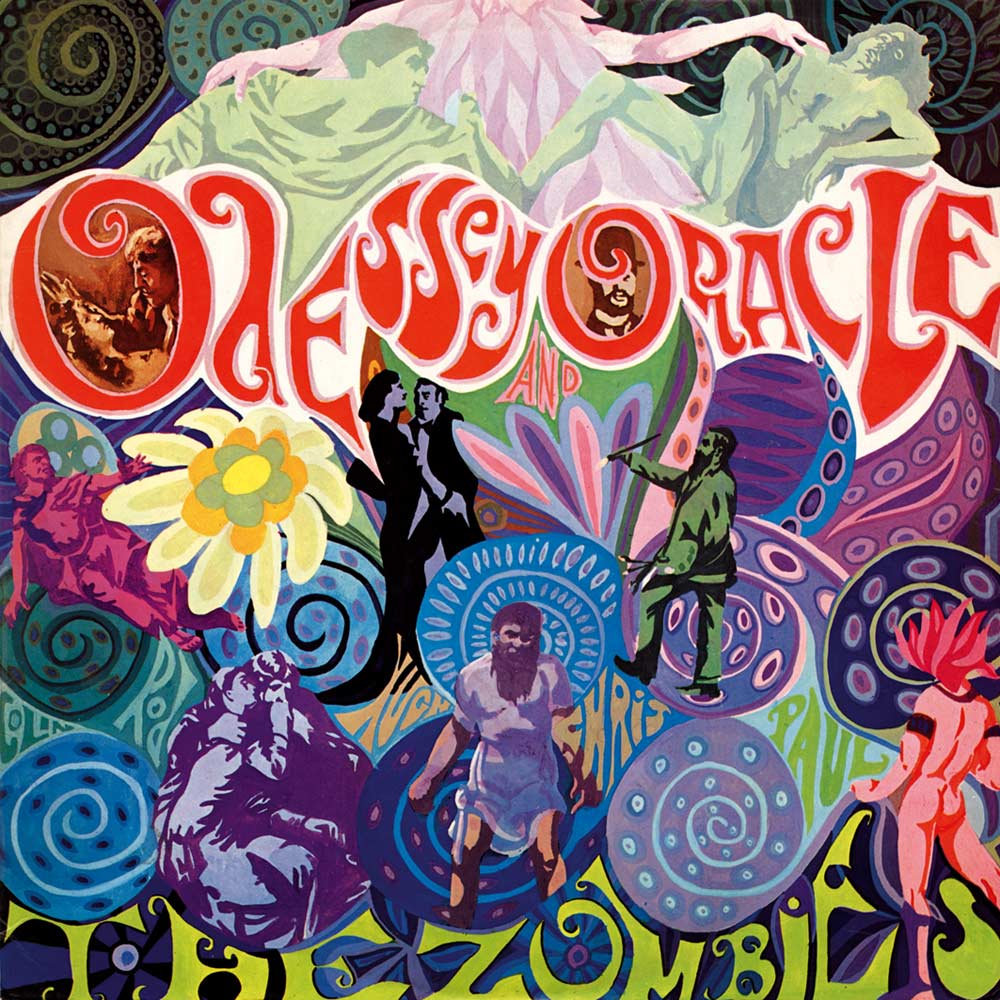 Image result for the zombies odessey and oracle album cover photo