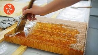 making a butcher block cutting board