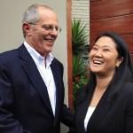 Reunión entre PPK y Keiko Fujimori fue contribuyente para el país, según ciudadanía