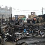 Incendio en Oasis deja a 115 pobladores damnificados