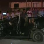 Accidente de tránsito deja un muerto y cuatro heridos
