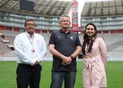 Gerente de selección de Nueva Zelanda sorprendido por las instalaciones del Estadio Nacional