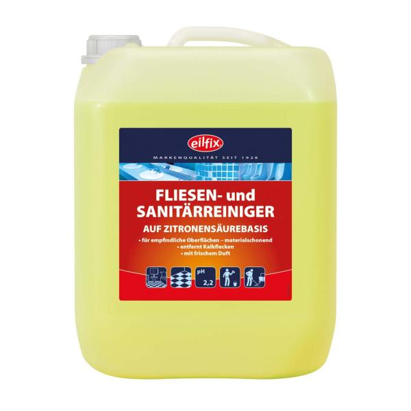 Eilfix Fliesen- und Sanitärreiniger 10 L 1