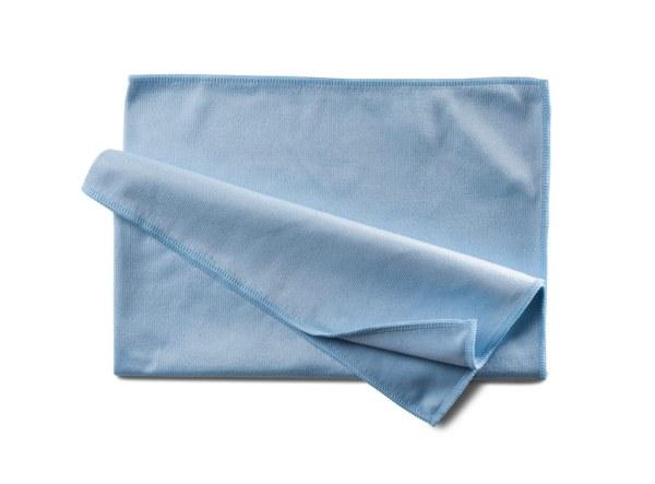 Küchentuch blau   Mikrofasertuch - Abtrocknungstuch mit Polierwirkung