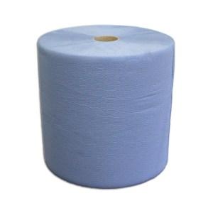 Putzrolle blau 3-lagig | 1000 Blatt 3