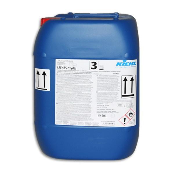 Arenas-oxydes 20 L – Wäschedesinfektionsmittel | Flüssige Desinfektions- und Bleichkomponente