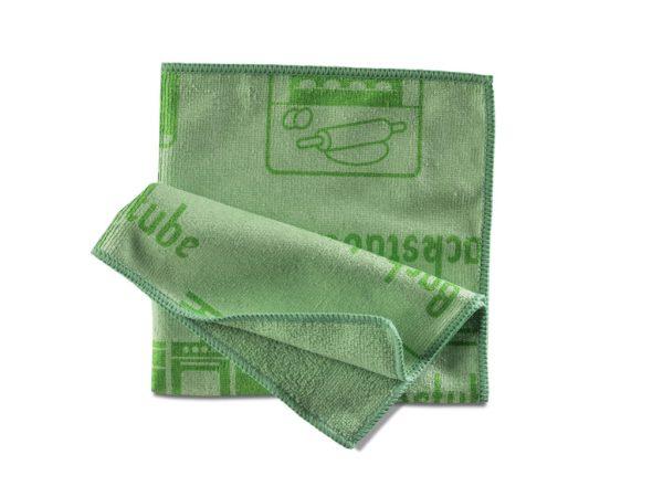 Piktotuch grün   Mikrofasertuch - Piktogrammtuch