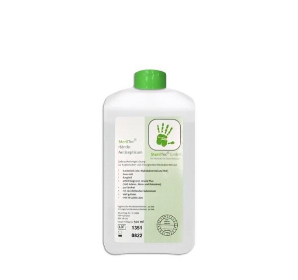 SterilTec Hände-Antisepticum 0,5 L 1