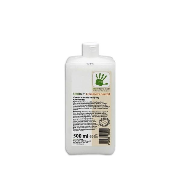 SterilTec Cremeseife neutral 0,5 L 1