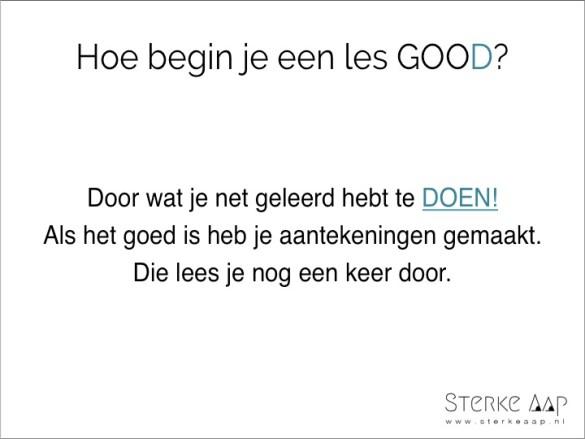 Start je les GOOD