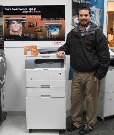 canon copier service technician