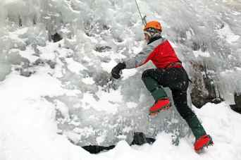 Intro to Ice Climbing course