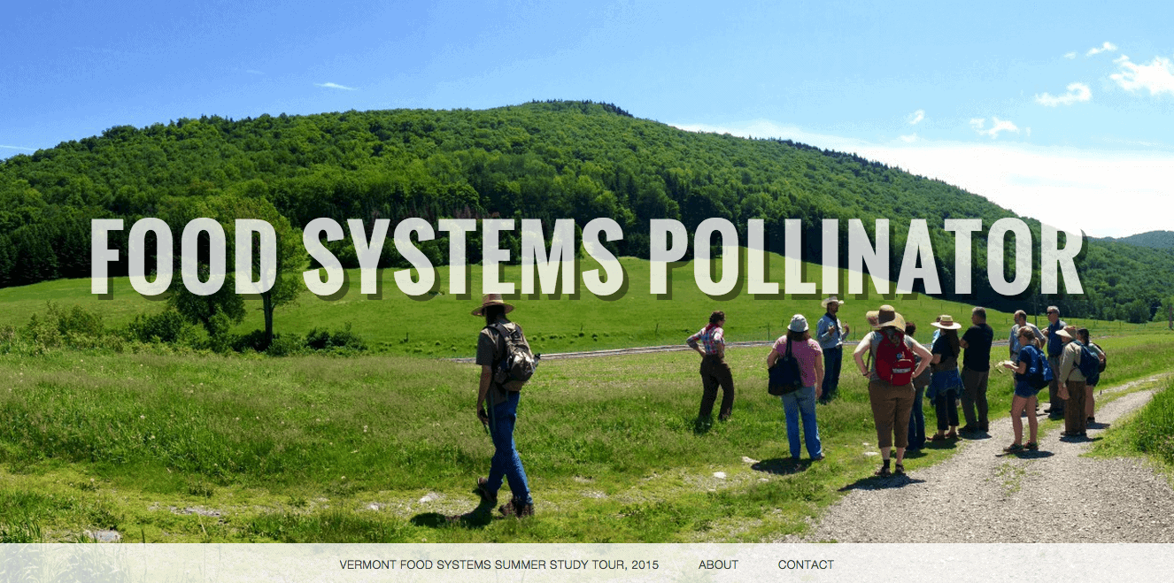 Vermont Food Systems Study Tour