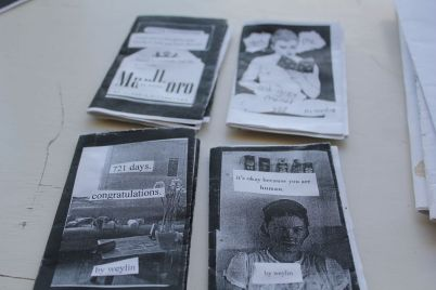 Zines by Weylin