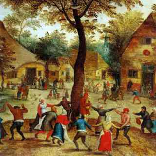 Bruegel painting depicting Carnival scene