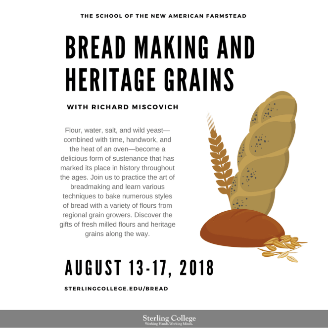 Breadmaking & Heritage Grains