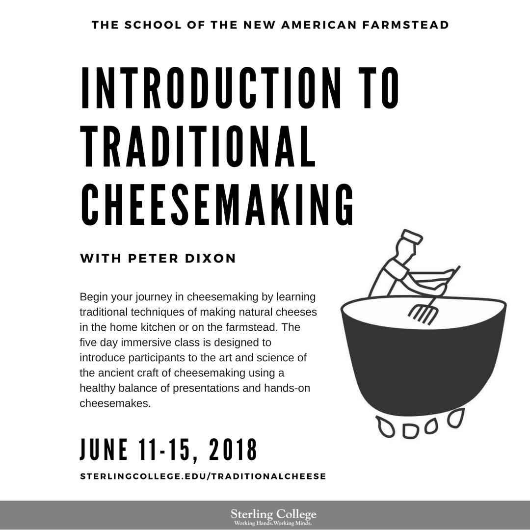 Traditional Cheesemaking
