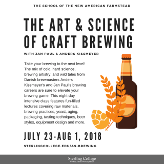 The Art & Science of Brewing