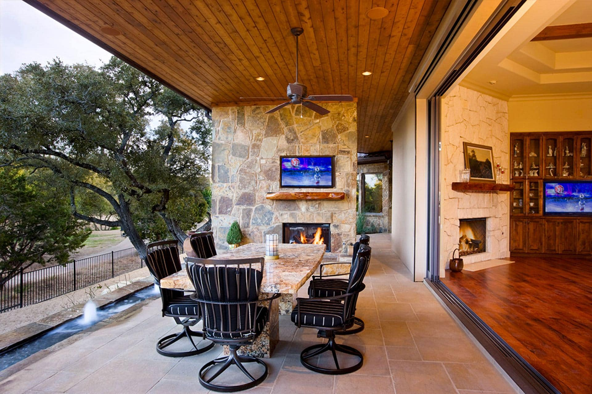 Texas Hill Country Tuscan 6401 Sterling Custom Homes