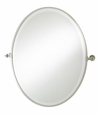 oval tilt mirror