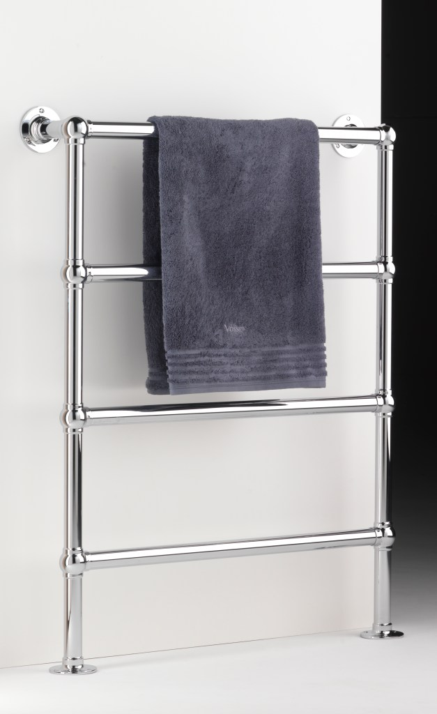 enville wall and floor mounted towel warmer