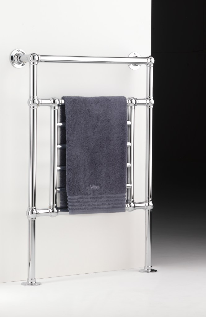 suiteart wall and floor mounted towel rack