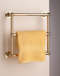 Gold Plated Stourton Towel Warmer