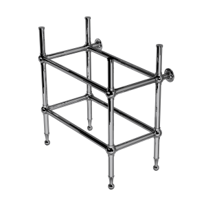 Classic Four Leg Sink Stand With Shelf Support