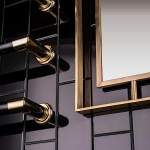 Marble Heated Rails & Hagley Mirror