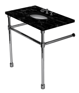 Industrial Two Leg Washstand