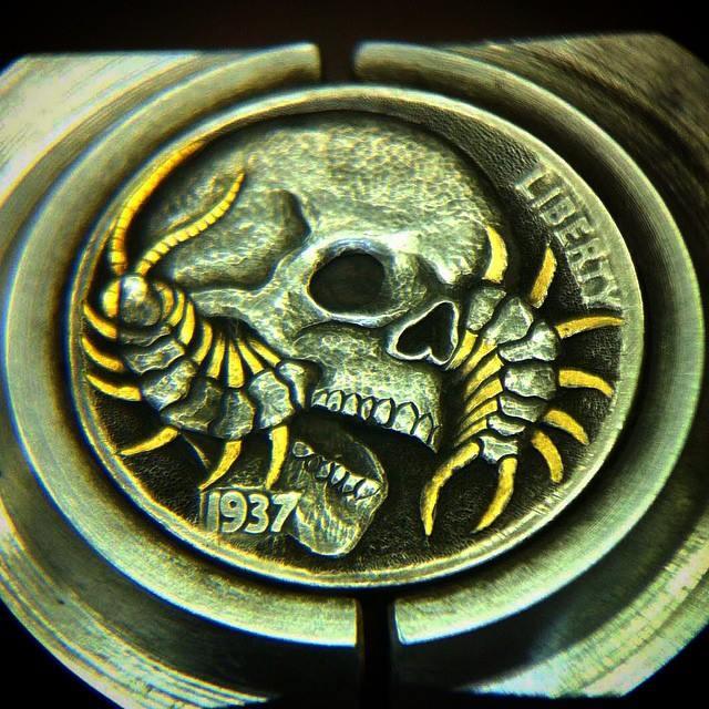 Skull_Centipede_Hobo_Nickel_10