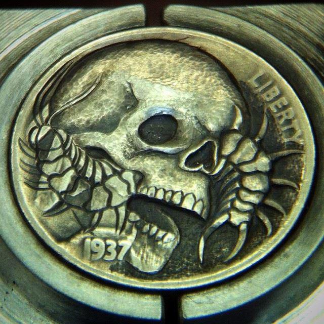 Skull_Centipede_Hobo_Nickel_5