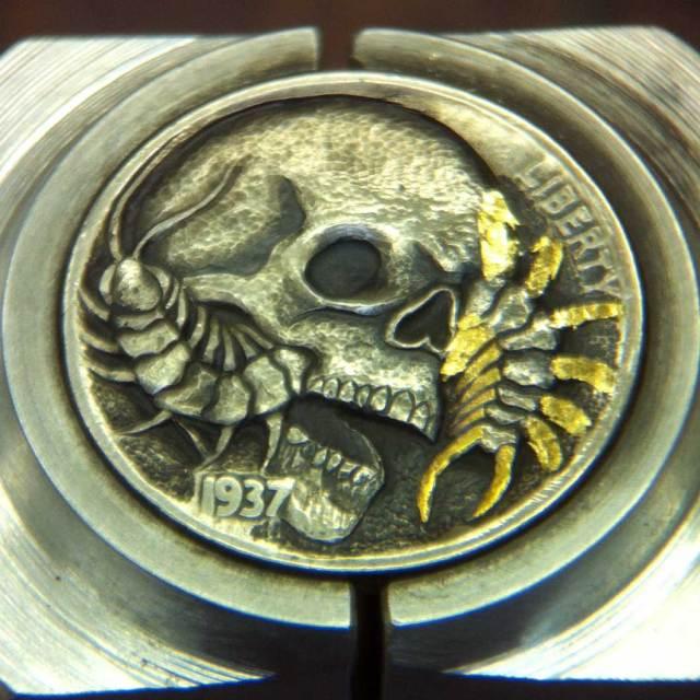 Skull_Centipede_Hobo_Nickel_7