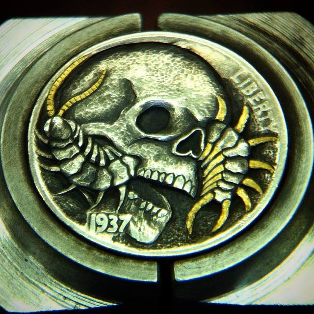 Skull_Centipede_Hobo_Nickel_8