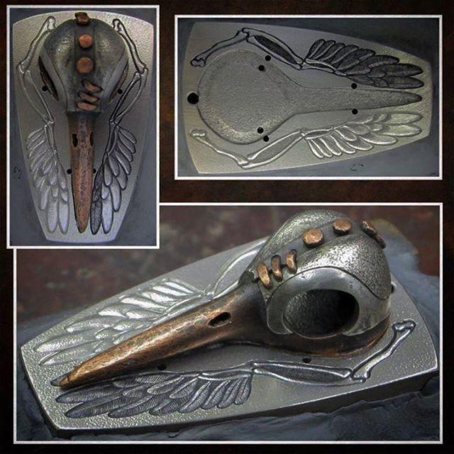 Silver_Helmet_Hummingbird_Skull_7