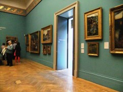One of the rooms in the Manchester Art Gallery