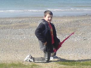Dinas Dinlle beach, our favourite place